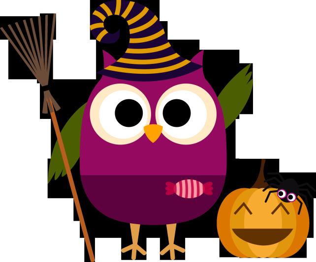 Búho halloween | El Buho Lector | Pinterest | Owl, Clip ...