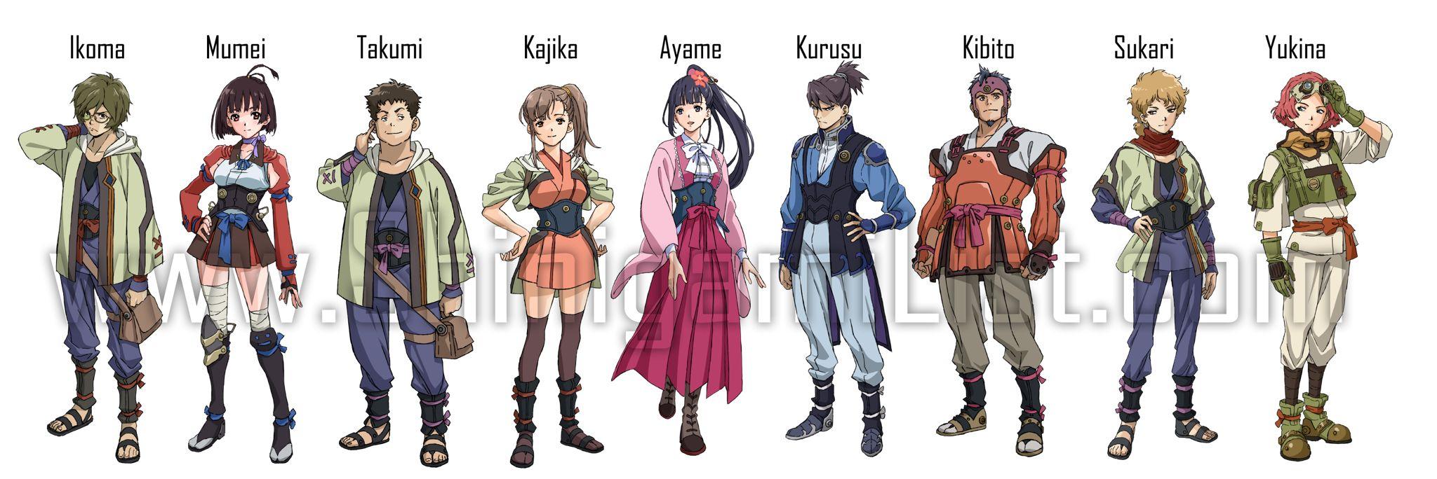 Koutetsujou No Kabaneri Iron Fortress Anime Lovers Anime