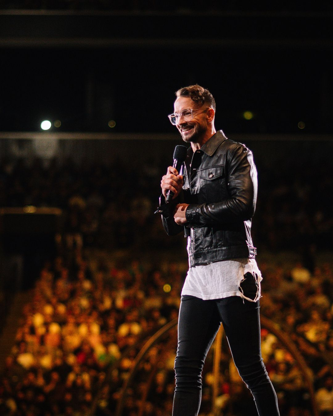 Pastor Carl Lentz Saint Laurent Hillsong Conference 2018 Barclay Center Preacher Styles Mens Street Style Style Mens Fashion Trends