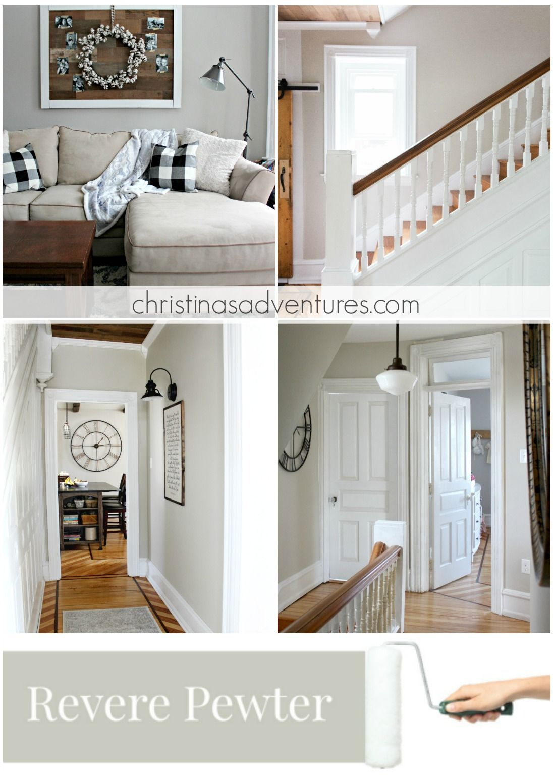 Our house modern farmhouse paint colors farmhouse paint for Farmhouse paint colors interior