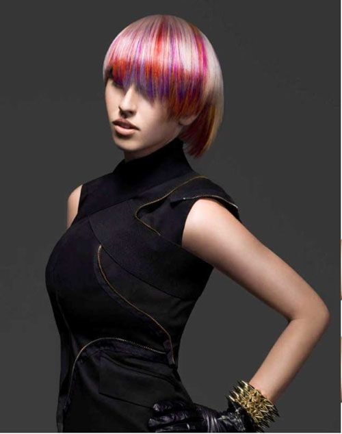 Couture Meets Coiffure An Homage To Chanel By Joico S Stella Livoti Hair Photo Joico Funky Hairstyles