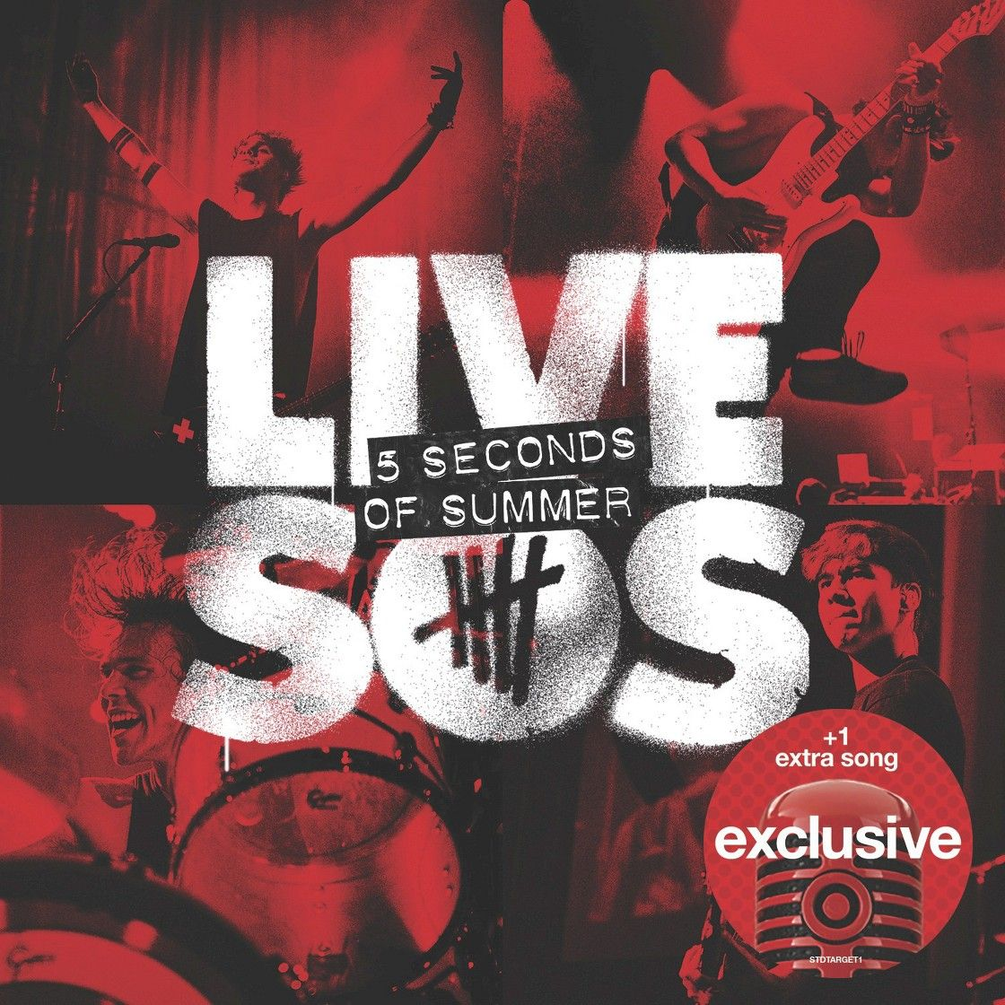5 Seconds Of Summer Livesos Deluxe Edition Target Exclusive