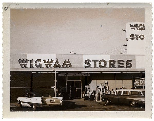 1960 s pictures of washington wigwam store we shopped for