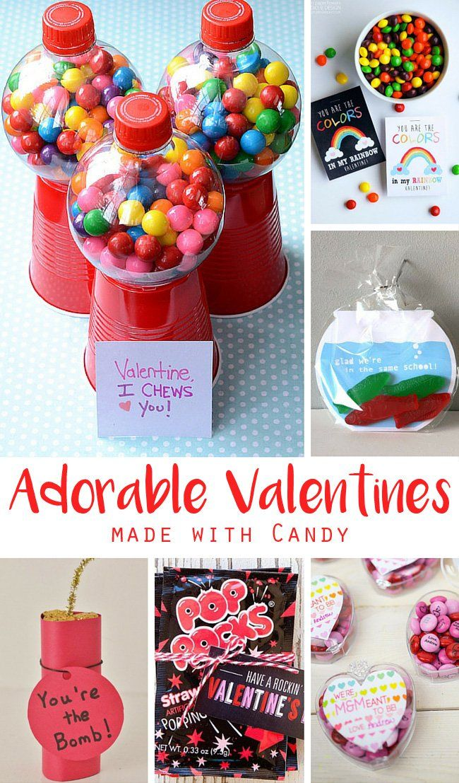 kids candy valentines for school - Valentines For School