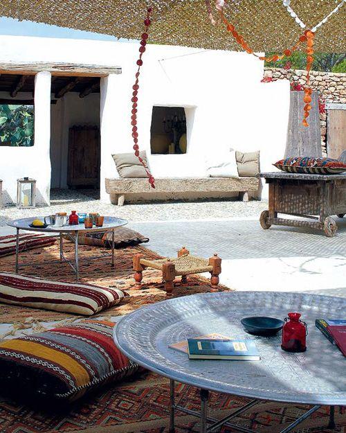 Moroccan Patio Patios Pinterest Style Marocain Exterieur And Deco