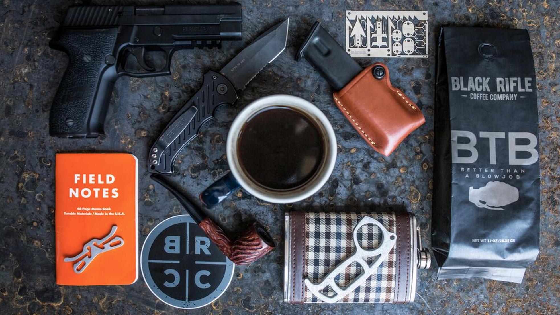Pin on Black Rifle Coffee Company