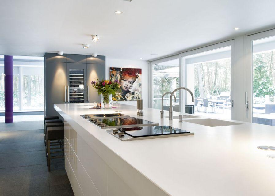 Luxe keukenkasten ~ Luxe keuken. door rmr interieurbouw. #keuken #wijnklimaatkast