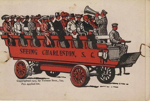 Old CHARLESTON TOUR GUIDE TRANSPORT