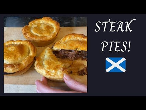 Scottish Steak pies | Easy meat pie recipe :) - YouTube ...