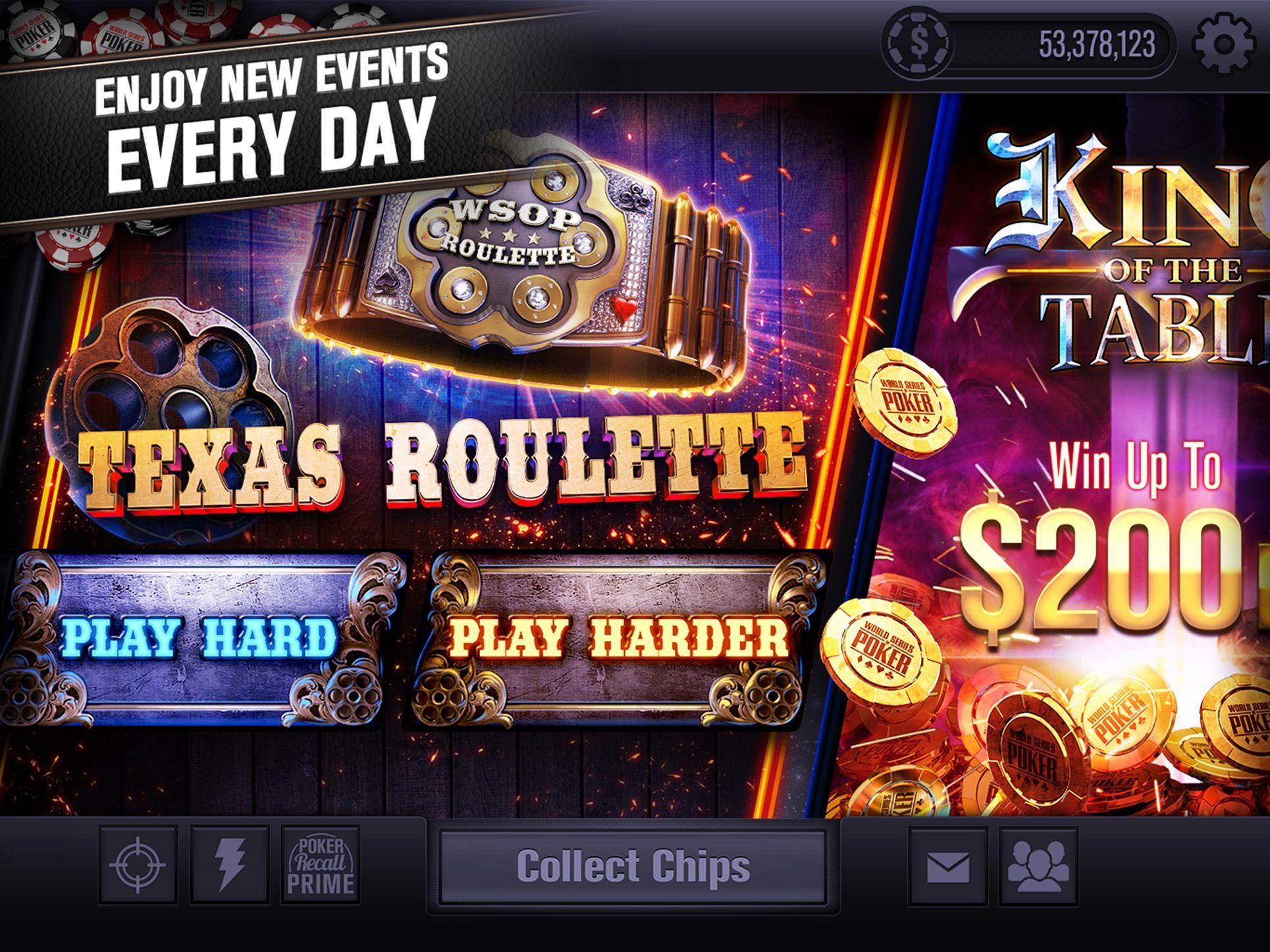 World Series of Poker WSOP on the App Store en 2020