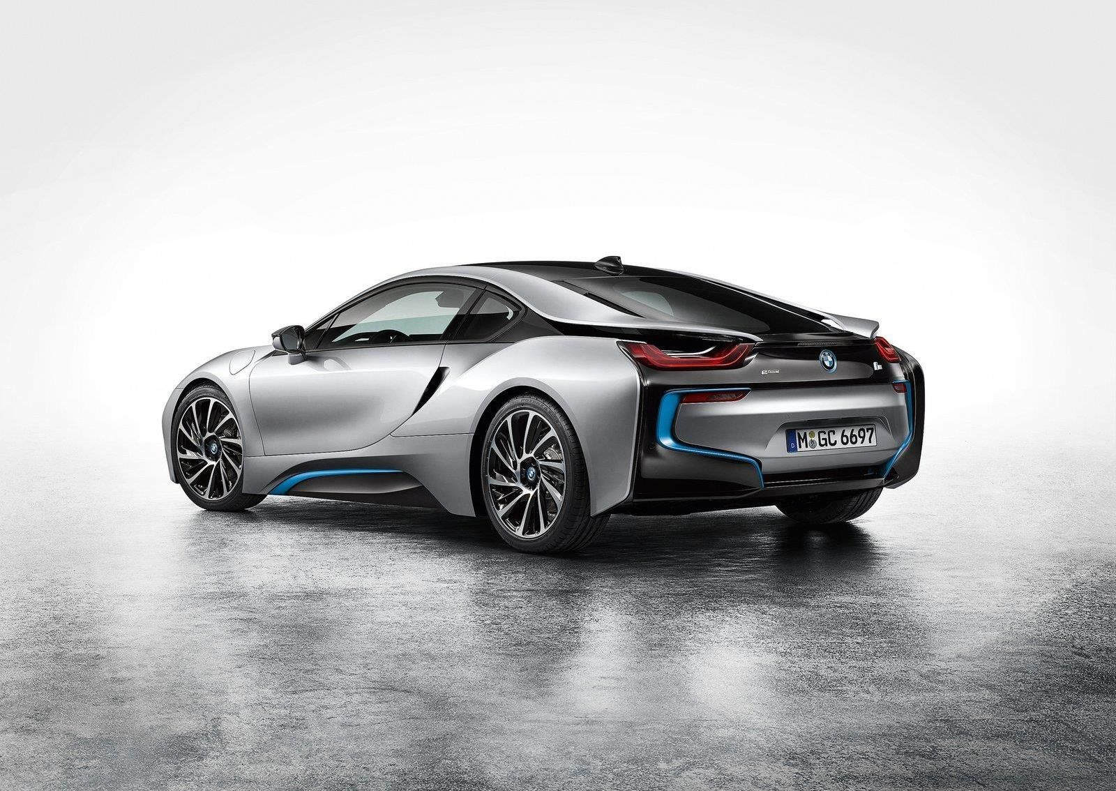 Bmw I8 Rear View Maxabout Images Pinterest Bmw I8