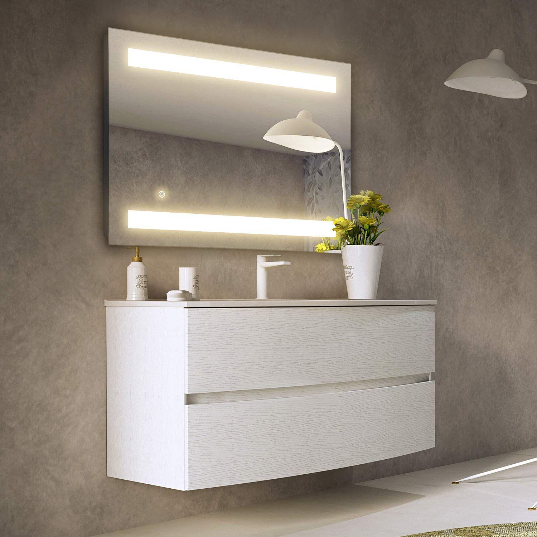 GETINLIGHT LED Wall Mounted Lighted Vanity Mirror, 3000K