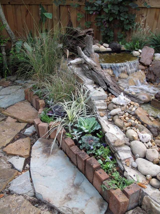 Bassin d\u0027eau dans le jardin  85 idées pour s\u0027inspirer Gardens