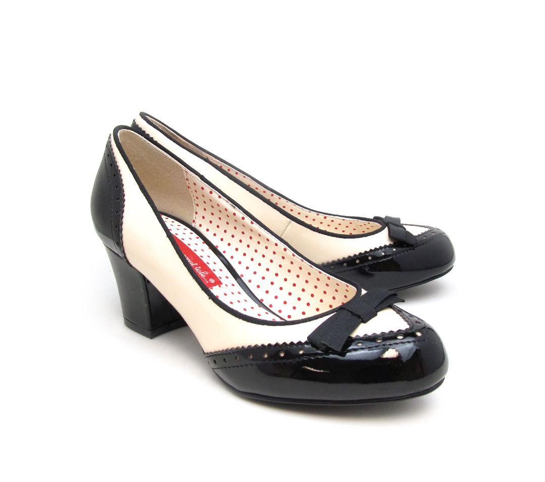 bf59dd3c074 Riley Black · Ladies PumpsRetro ShoesCourt ShoesBaitProduct PageHeelRoundingFly  TyingParagraph