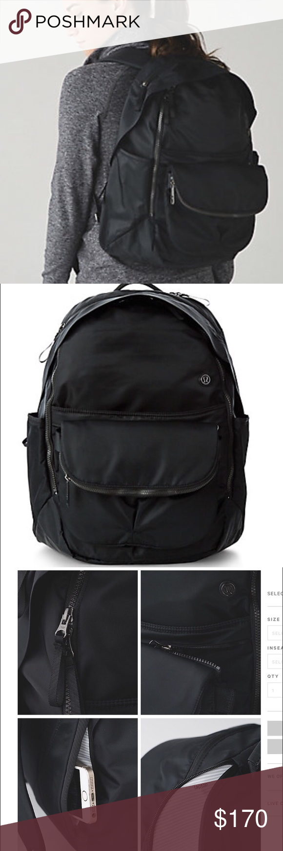 3fe5dfb7bc4d Lululemon All Day Backpack New