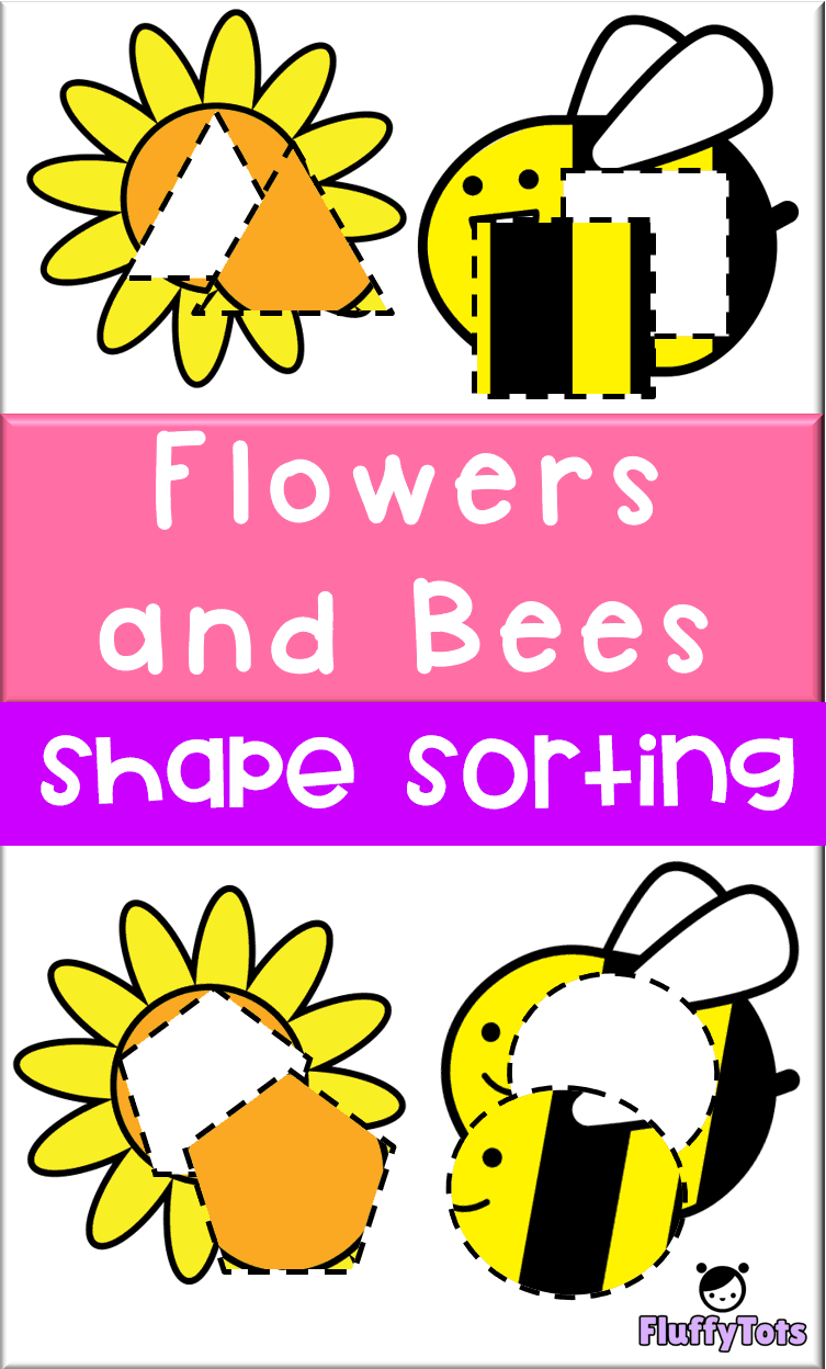 Free Flowers And Bees Shape Sorting Printable Learn Shapes The Fun Way With Some Flowers Spring Preschool Activities Bee Activities Lesson Plans For Toddlers [ 1248 x 753 Pixel ]