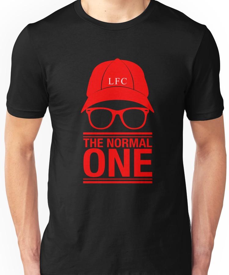 Jurgen Klopp Liverpool The Normal One Fan T Shirt
