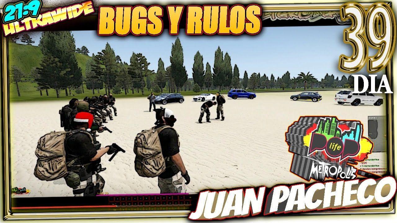 POP LIFE 4 Arma 3 #39 BUGS Y RULOS Gameplay Español 21:9