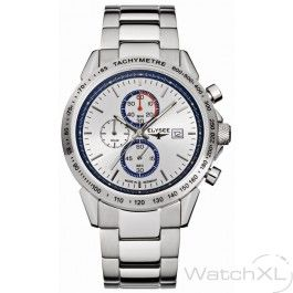 Elysee 13264 Classic Arrow chronograph watch