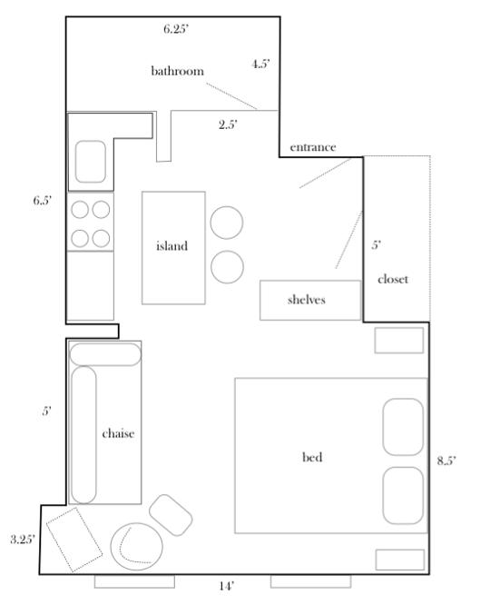Julie's Teeny Abode