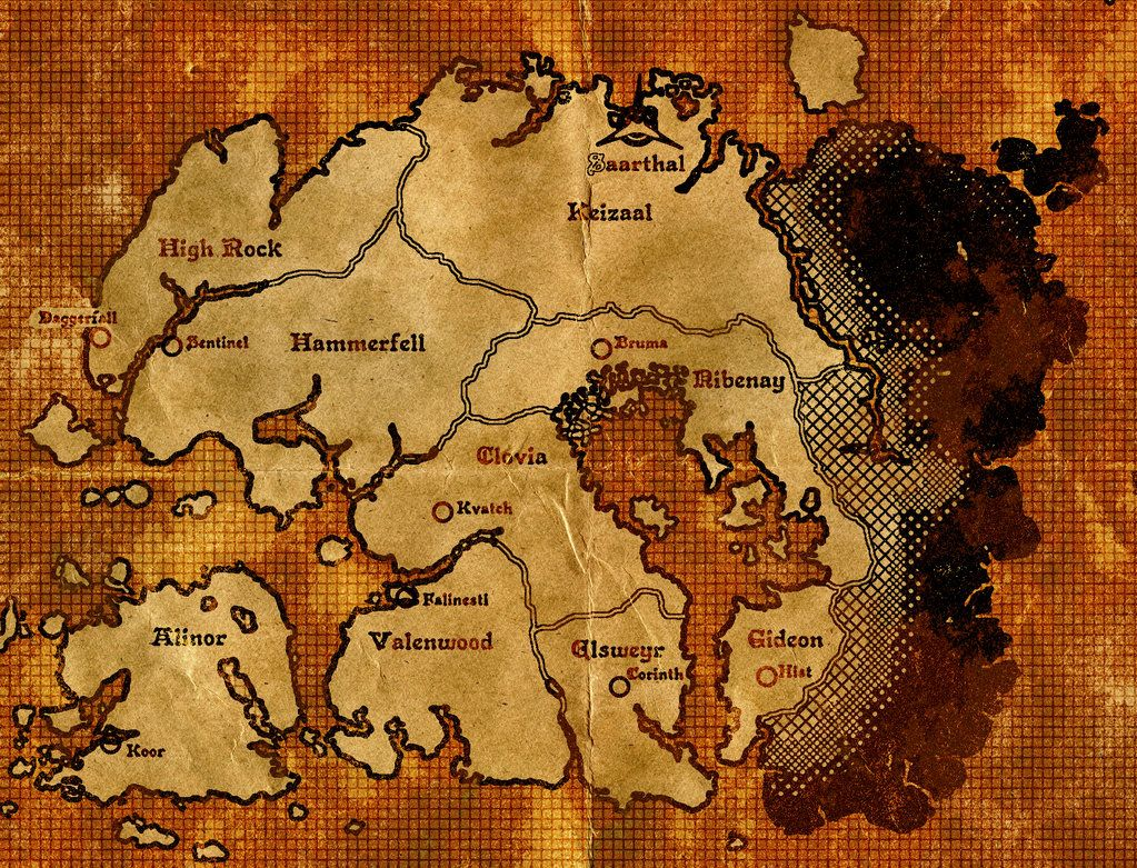 Second age map of tamriel by dovahfahliil the elder scrolls world second age map of tamriel by dovahfahliil gumiabroncs Gallery