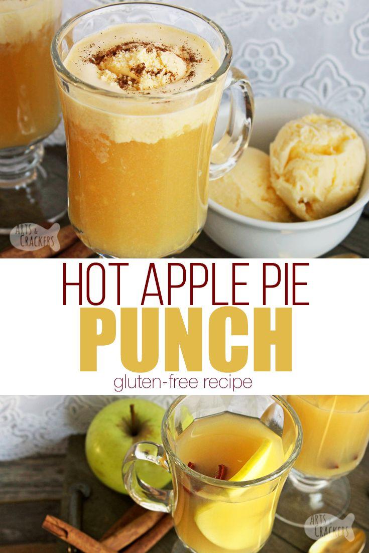 Caramel Apple Pie Ice Cream Punch | Recipe | Apple pie drink, Caramel apples