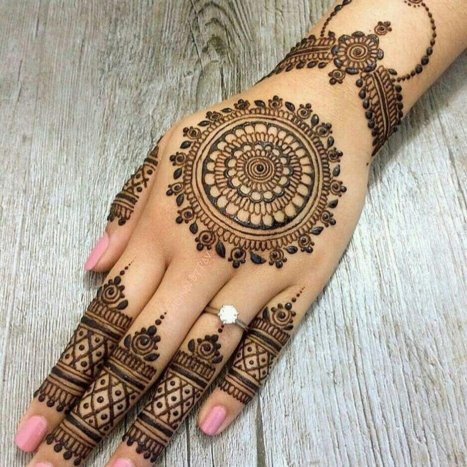 Pin By Khadidjeh On K Latest Bridal Mehndi Designs