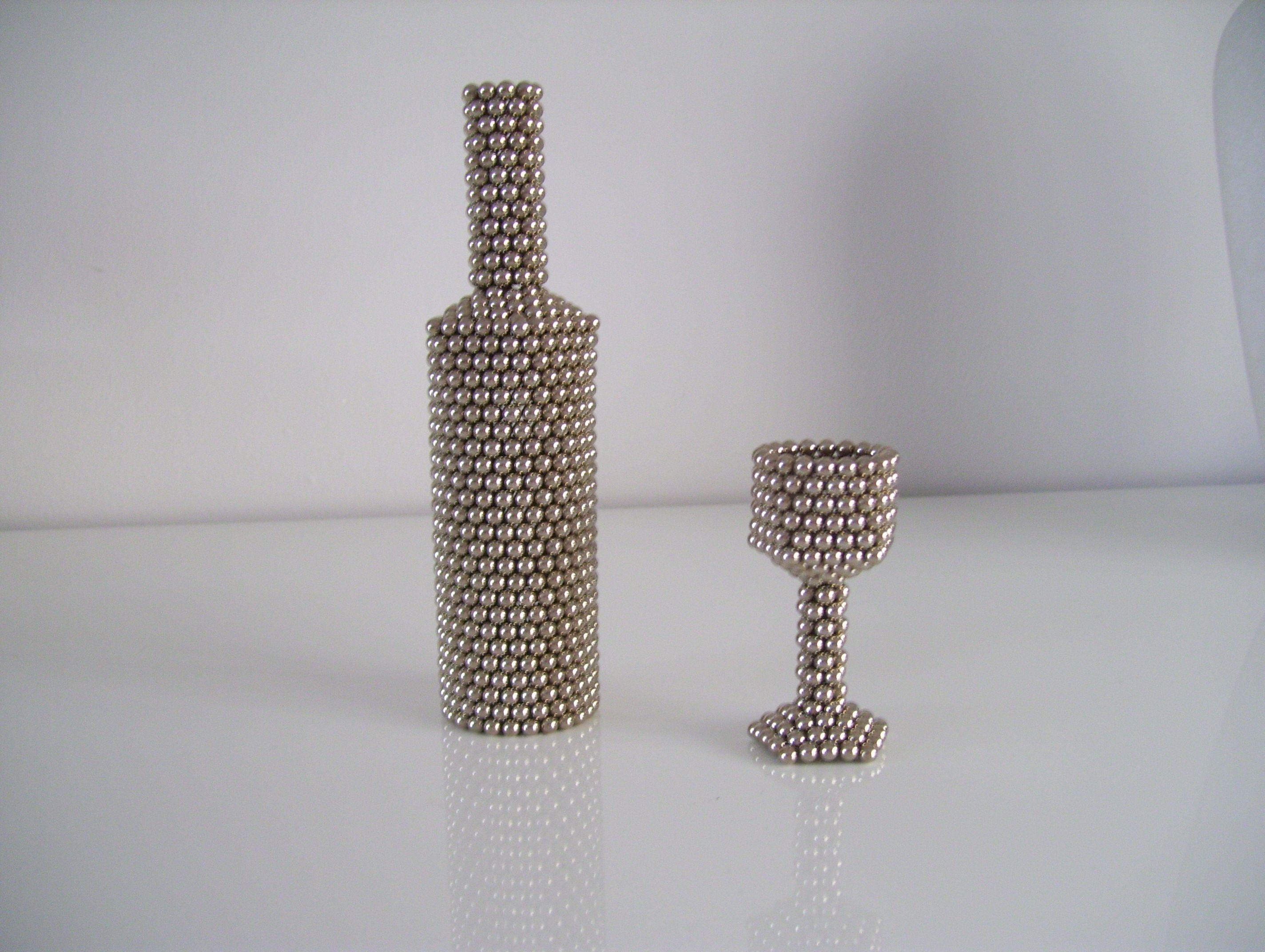 Van Neo-cube bolletjes gemaakt