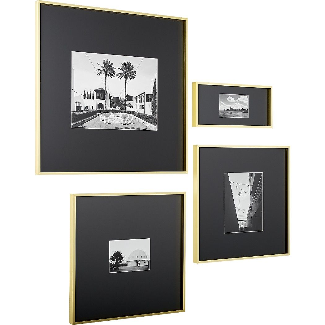 Shop Gallery Brass 11x14 Picture Frame With Black Mat Exhibit Your Favorite Photos Gallery Style Crea Brass Picture Frames 11x14 Picture Frame Gallery Frames