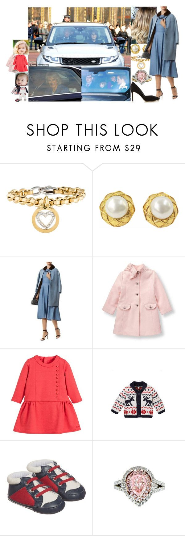 """Attending the Christmas luncheon hosted by Queen Elizabeth with other members of the BRF."" by duchess-rebecca ❤ liked on Polyvore featuring Chanel, MaxMara, Diana M. Jewels and Loeffler Randall"