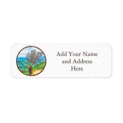 King Cervus Label Return address