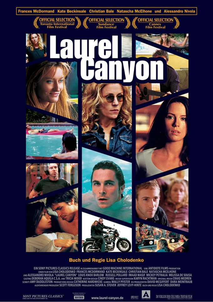"""Laurel Canyon"" (2002) (dir. Lisa Cholodenko). Other than Madge in ""Fargo""one of Frances McDermont's best performances, cast against type."