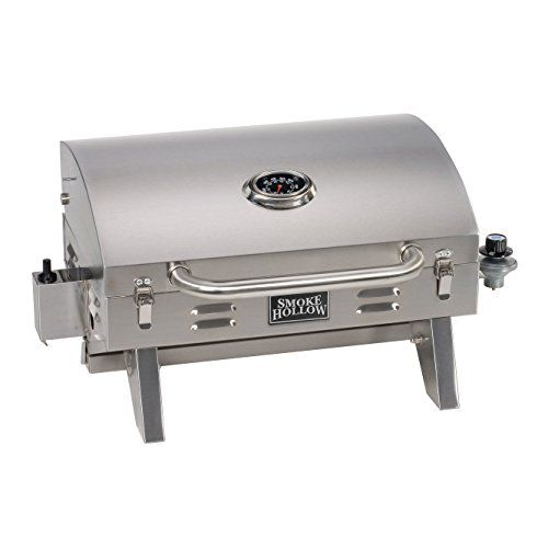 Smoke Hollow 205 Stainless Steel Tabletop Propane Gas Grill Perfect For Tailgating Camping Or Any Outdoor Event Best Gas Grills Gas Grill Propane Gas Grill
