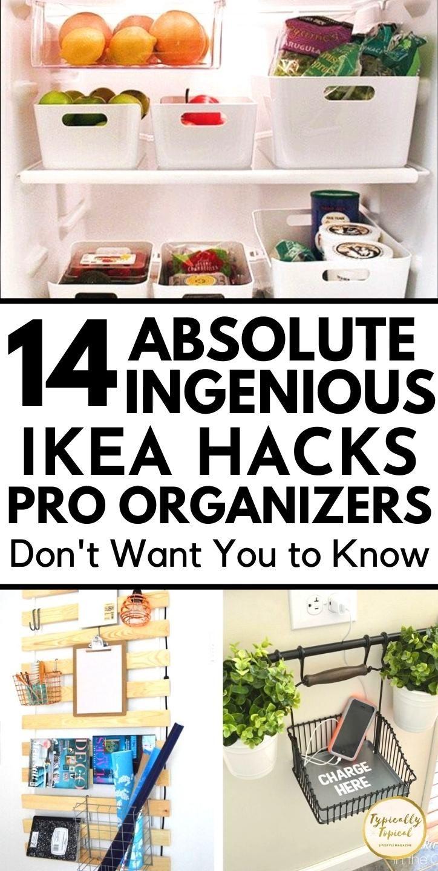 14 Genius IKEA Hacks To Finally Get Organized Like A Pro