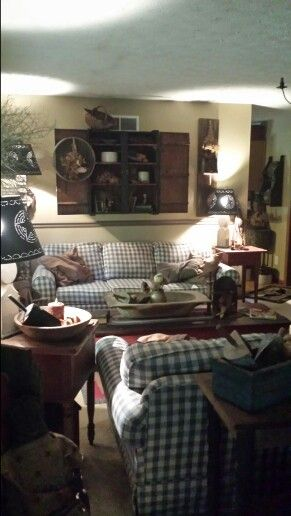 So Cozy And Primitive ! Find This Pin And More On Rustic Decor By  Willie3014. Living Room