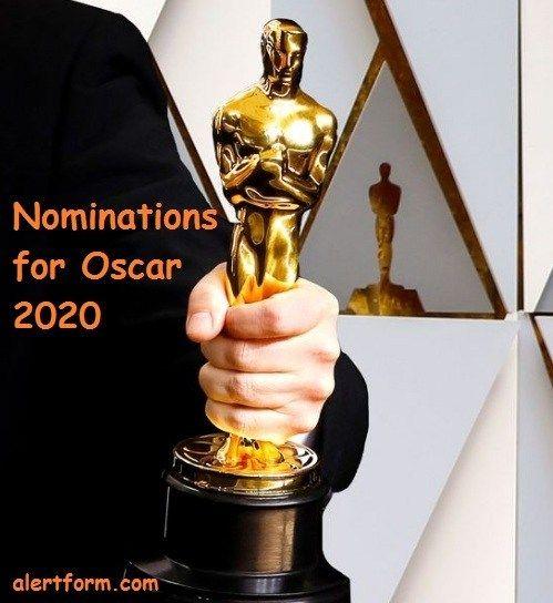 Oscar List 2020.Prediction For Oscar 2020 Nominees Names 92nd Academy Awards