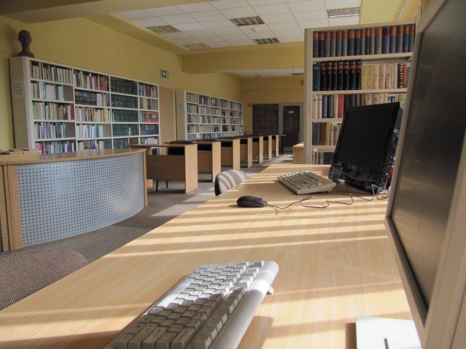 Wnętrza Biblioteki Biotechnologii