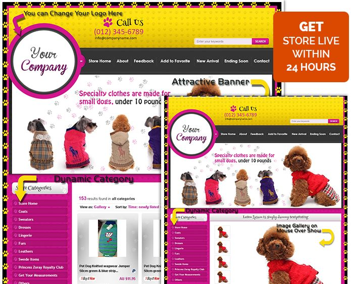 Excellent #eBay #Shop Template eBay Store Listing #Templates #Design