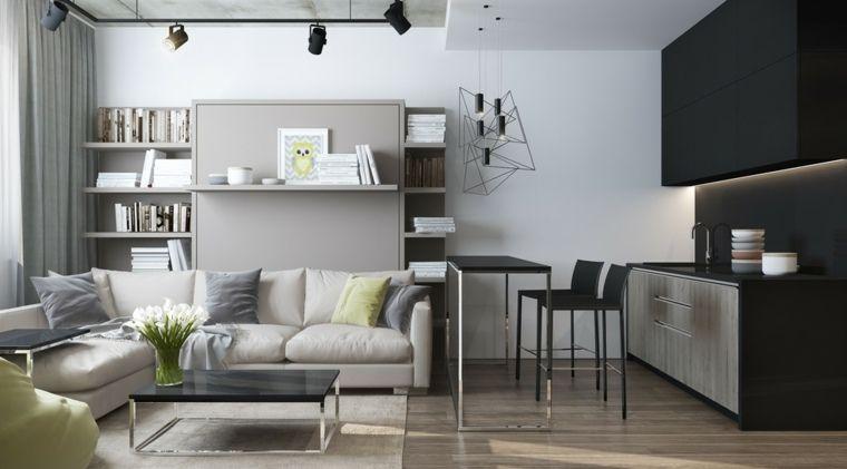 Intérieur et design petit espace  61 idées pour la déco appart