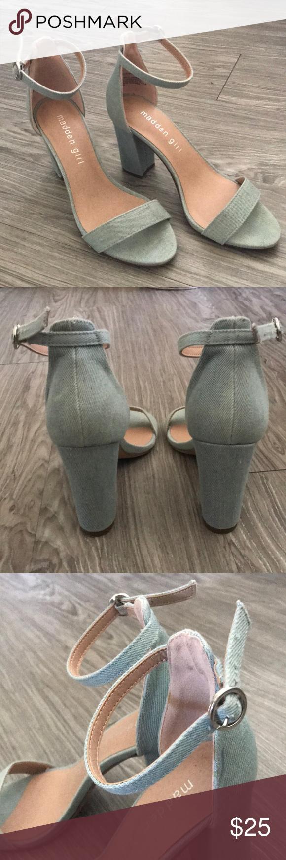 Steve Madden Bella heeled ankle strap