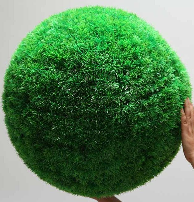Artificial Plants Plant Big Bouquet Grass Ball Decoration Flower Home Hangings Green Big Round Ball Grass B Big Bouquet Best Artificial Plants Ball Decorations