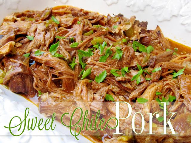 Sweet Chile Pork {a freezer meal}