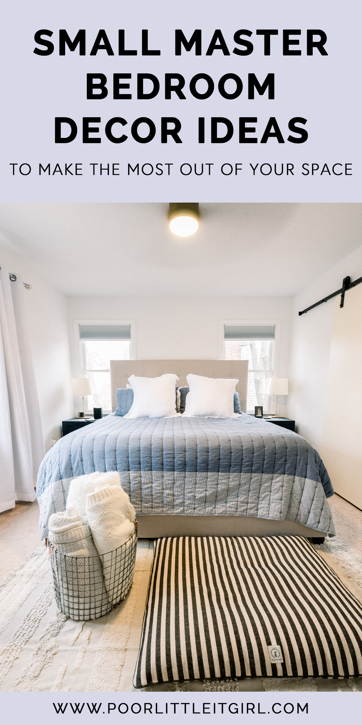 Small Master Bedroom Decor Ideas To Make The Most Out Of Your Space In 2020 Master Bedrooms Decor Small Master Bedroom Master Bedroom Renovation