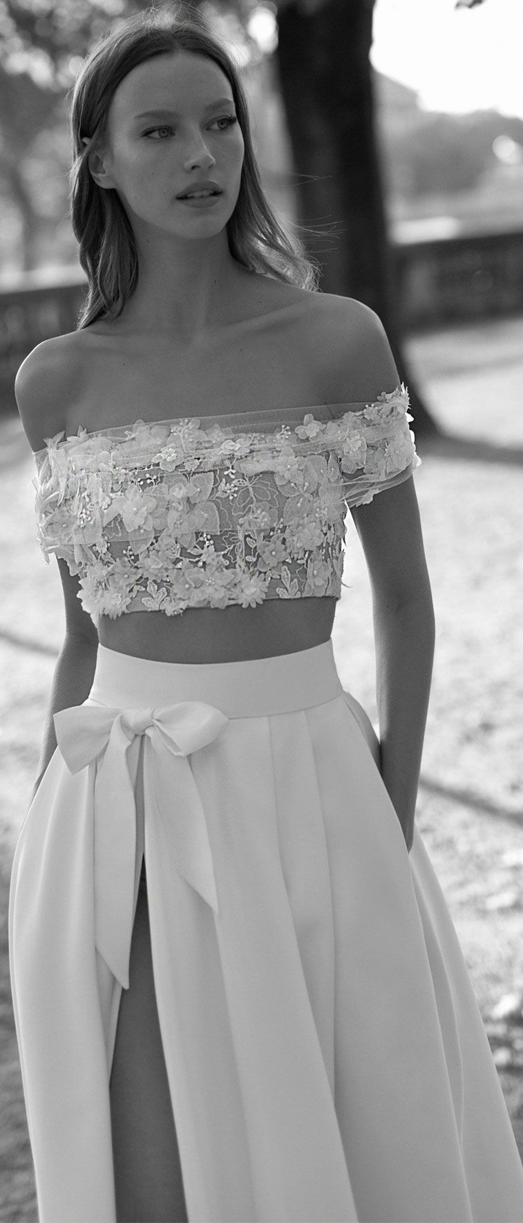 Two-Piece Wedding Dresses For Brides Who Dare To Be Different