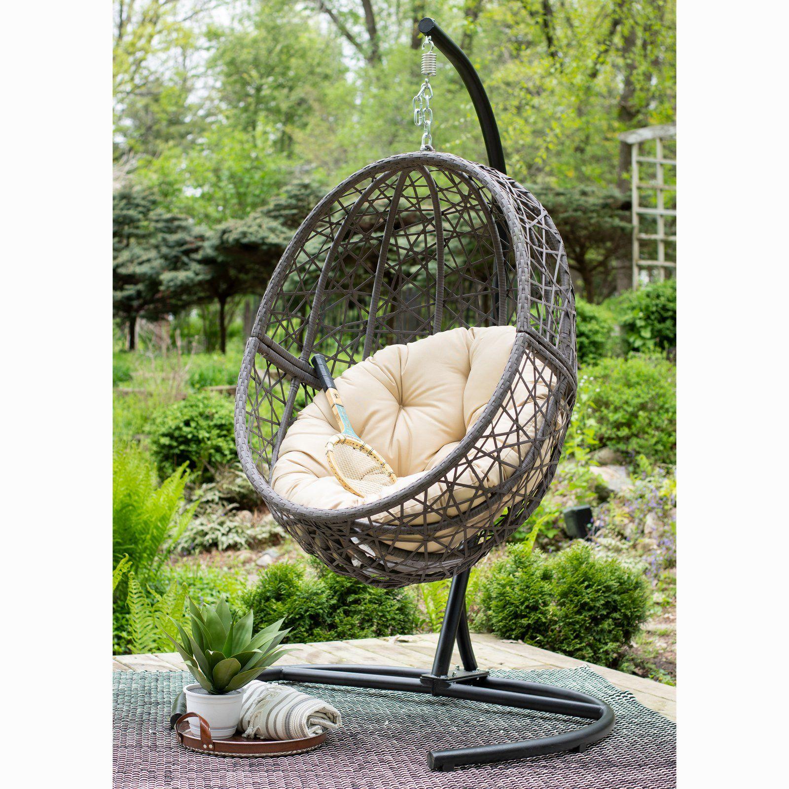 Patio & Garden in 2020 Hanging egg chair, Resin wicker