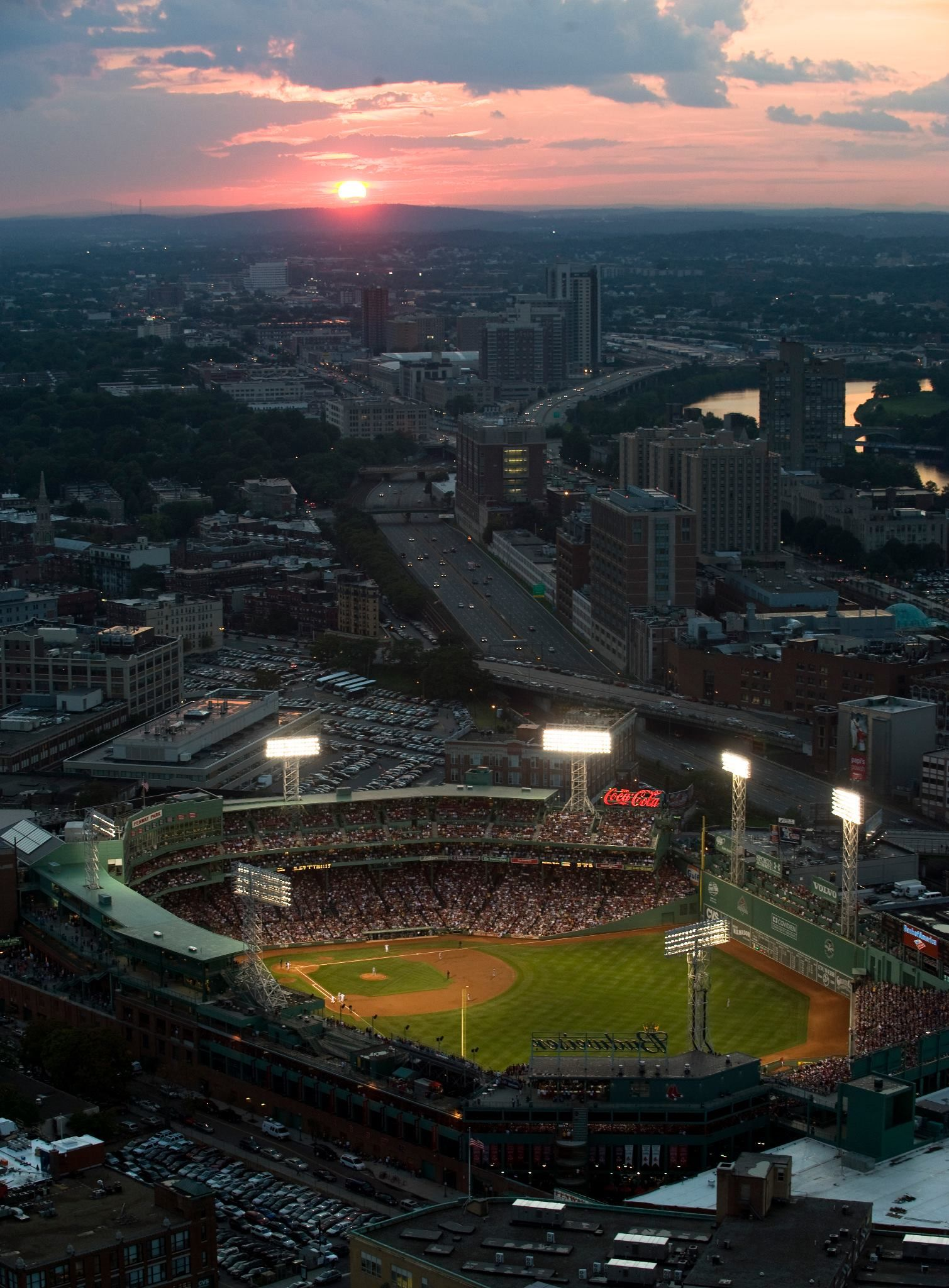 aerial: fenway park; 1912- : boston red sox | Red sox | Pinterest ...