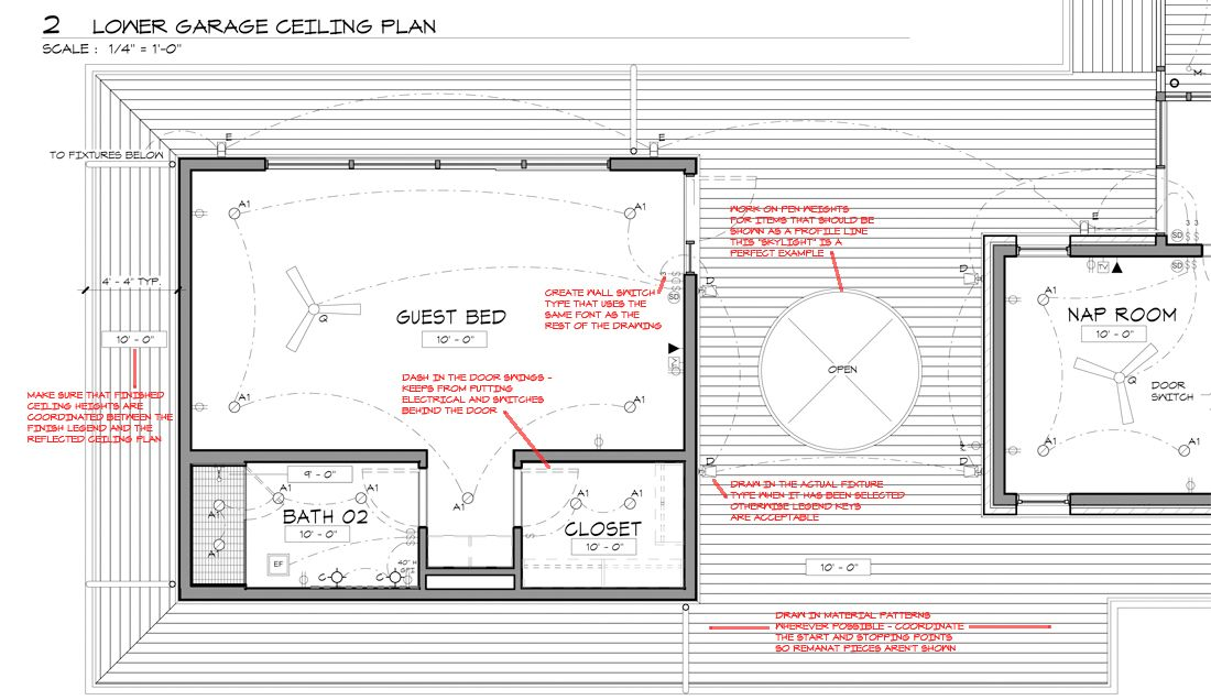 Graphic standards interior theory ceiling plan plan - Interior graphic and design standards ...