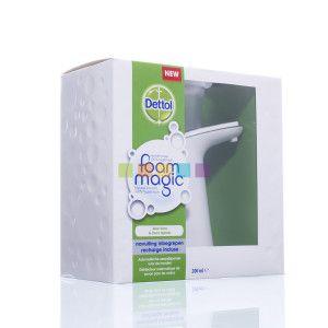 De Dettol Foam Magic Aloe Vera Coco Splash Is Een Automatische Zeepdispenser Die Je Handen Detecteert En De Perfecte Hoeveelheid Mous Apotheek Aloë Vera Aloe