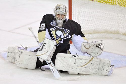 Marc Andre Fleury Wins Game 1 Still Faces Endless Questions Marc Andre Hockey News Hockey