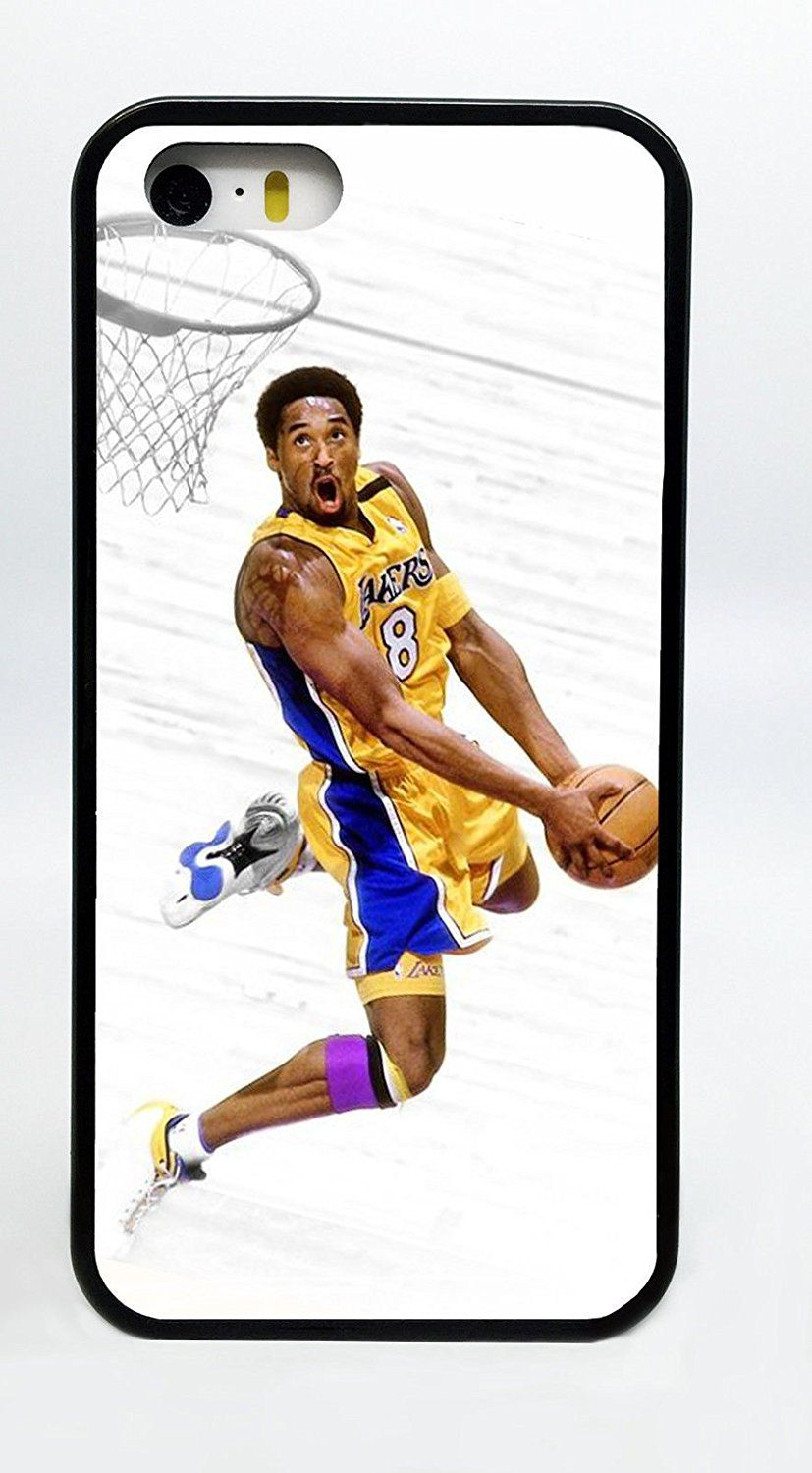 Kobe Dunk White Background Lakers Basketball Phone Case